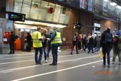 Streikevakt Oslo S